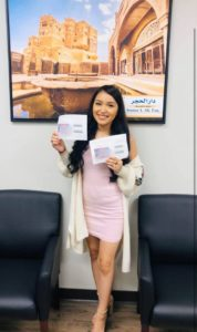 Congratulations to our two clients whose TPS Approval and Work Authorizations cards arrived today in the mail!